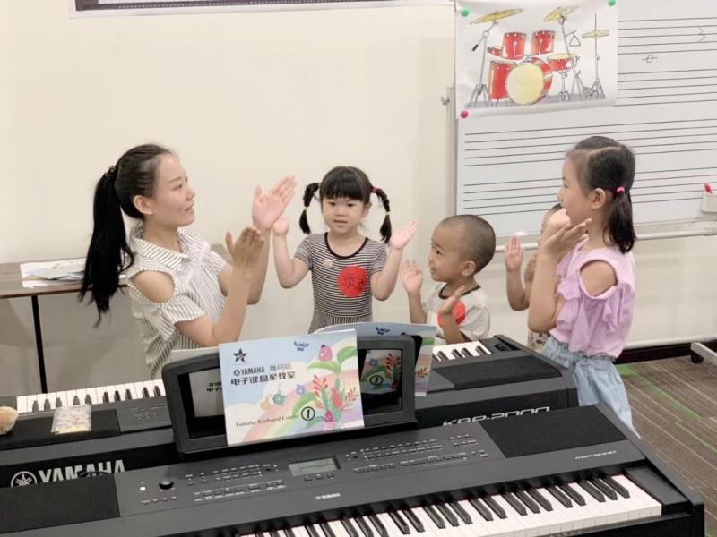 雅马哈电子键盘星教室(4-8人)